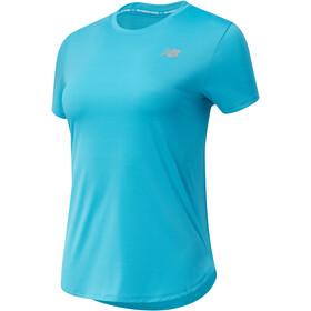 New Balance Accelerate SS-skjorte Damer, turkis